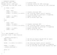 リスト1 ATmega64用のプログラム