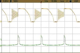 図3評価結果(オシロスコープ波形)