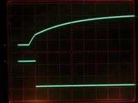 写真1 図1のノードA、Bでの波形