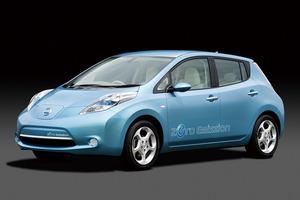 写真1 日産の電気自動車「リーフ」