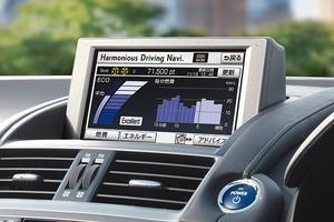 写真4 ハーモニアスドライビングナビゲーター(提供:トヨタ自動車)