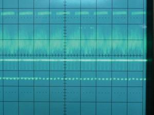 写真2 周期性が確認できる波形