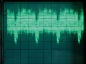写真3 同期の取れた波形