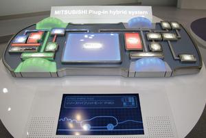 写真2「ConceptPX-MiEV」のシステムイメージ