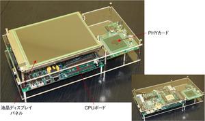 写真1テストシステムの例