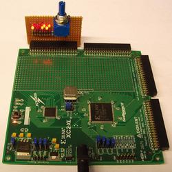 写真1図1の回路の試作品