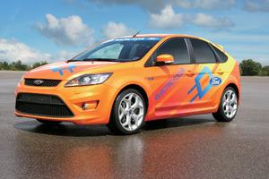 写真1「Focus」のEVモデル(提供:Ford社)