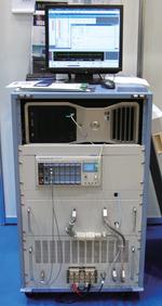 写真92次電池の充放電制御/インピーダンス特性測定システム