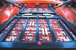 写真3クレイジーホースピントに搭載された鉛電池パック(提供:MikeWillmon氏)