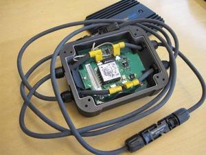 写真2 National Semiconductor社のモジュール製品「SolarMagic」