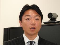 写真1 PTCジャパンの桑原宏昭氏