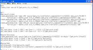 図4:一般的なテキスト・エディタを使うとSDCシンタックスがカラー表示されない
