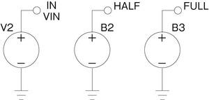 図3 ビヘイビア型電圧源の使用例