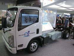 写真4いすゞ自動車のPHEVトラック