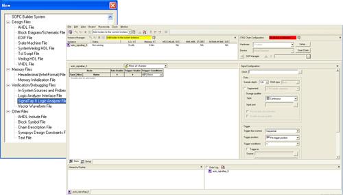 図1:GUI上で「サンプリング・クロック」を設定し、「サンプリングするノード」を選択すればSTPファイルの生成が可能である