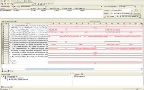 図3:FPGA内部信号のサンプリング結果