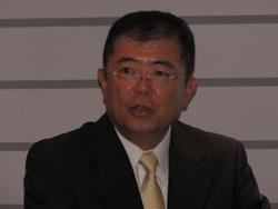 写真1 アームの西嶋貴史氏
