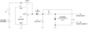 図2 ツェナー電圧の計測回路(その1)