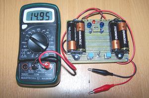 写真1 図3の回路の実装例