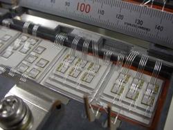 写真2 SiCパワーモジュールの内部構造