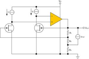 図6 JFETを用いた電圧リファレンス回路
