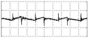 図4 出力電圧に現れるリップルノイズ