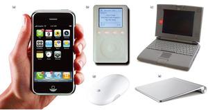 写真1 タッチパネル技術を採用したApple社の製品群
