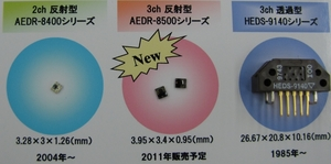 写真2 アバゴの既存品とのサイズ比較