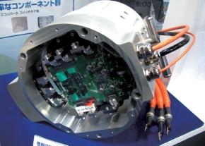 写真1「SiC-QMET」のモーター