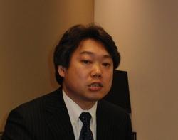 写真1 MathWorks Japanの柴田克久氏