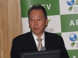 写真1 APEVの福武總一郎氏