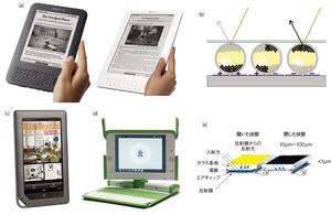 図2 電子書籍リーダーと電子ペーパー