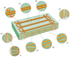 図5 シグナルインテグリティに影響するプリント基板の構造