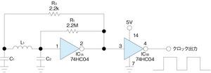 図1 典型的なコルピッツ発振回路