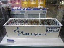 写真1 US Hybrid社が開発したEDLCモジュール