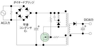 図1 スイッチング電源の回路例