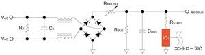 図1 コントローラICへの給電方法