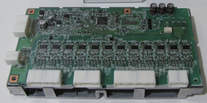 写真9「リーフ」の電池管理用ECU