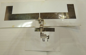 図1 紙に印刷したレクテナ