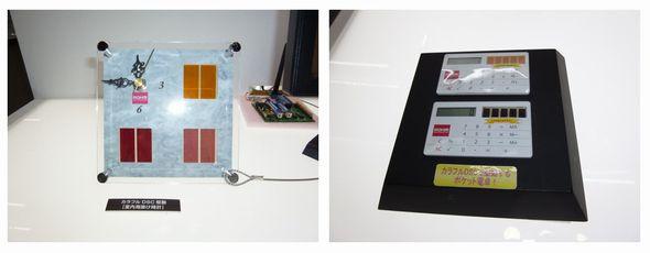 図2 色素増感型光電変換デバイスを使ったアプリケーションのイメージ