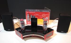 図1 GaNデバイスを用いたD級オーディオシステムのデモ