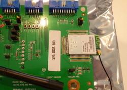 図1 GainSpanが発売した無線LANモジュール「GS1500M」