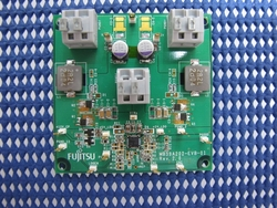 写真1 「MB39A202A」の評価ボード