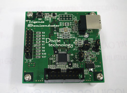 図1 「Dnote」処理用ICの新製品を搭載する評価ボード