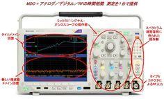 図2 「MDO4000シリーズ」の外観(提供:Tektronix)