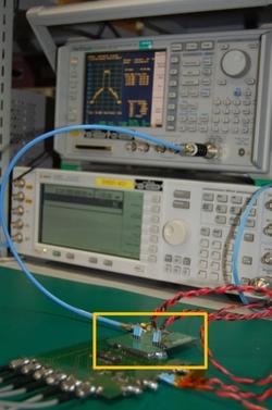 図1 村田製作所の携帯電話機RF部評価システム