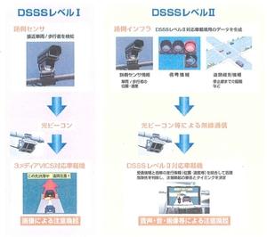 図1 レベルによって異なるDSSSのサービス