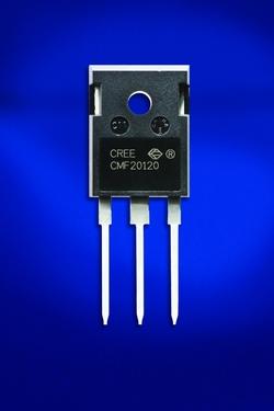 図1 CreeのSiC-MOSFET「CMF20120D」