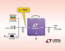図1 LinearTechnologyの「LTC3115-1」