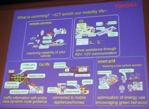 図2 トヨタ自動車が想定する今後の自動車で利用可能になる機能
